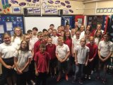 Good bye and good luck to our year 6 pupils: