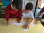 Developing our ability to order number during numeracy sessions.