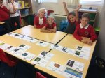 Consolidating our number order skills by creating a Victorian timeline
