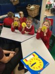We have been practising telling the time.
